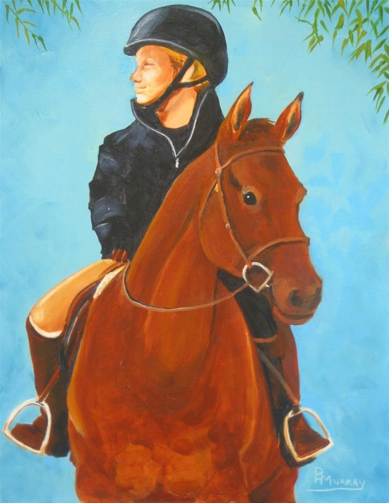 """""""Jessica"""" original fine art by Patricia Murray"""
