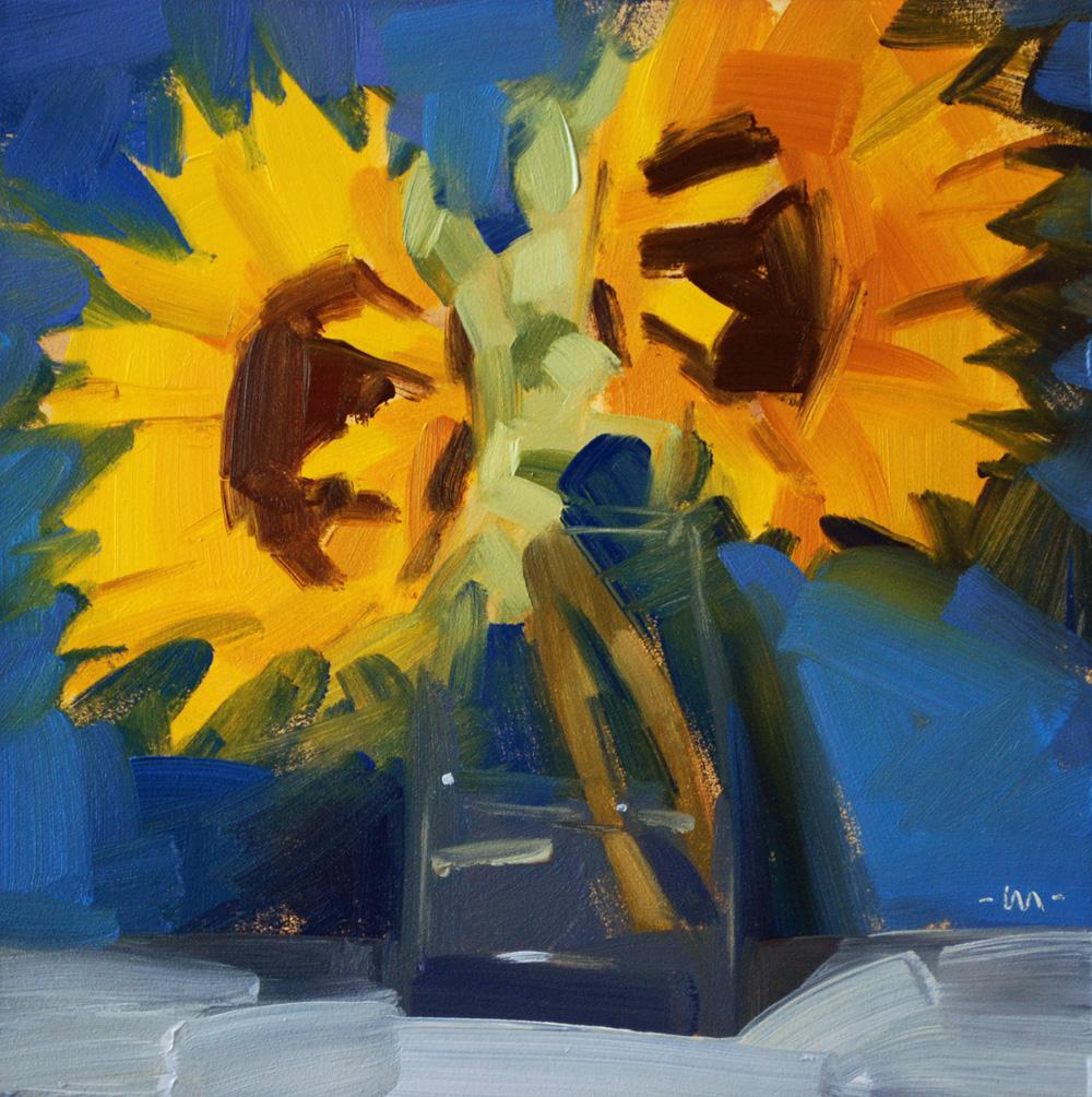 """""""Sunny Both Ways"""" original fine art by Carol Marine"""