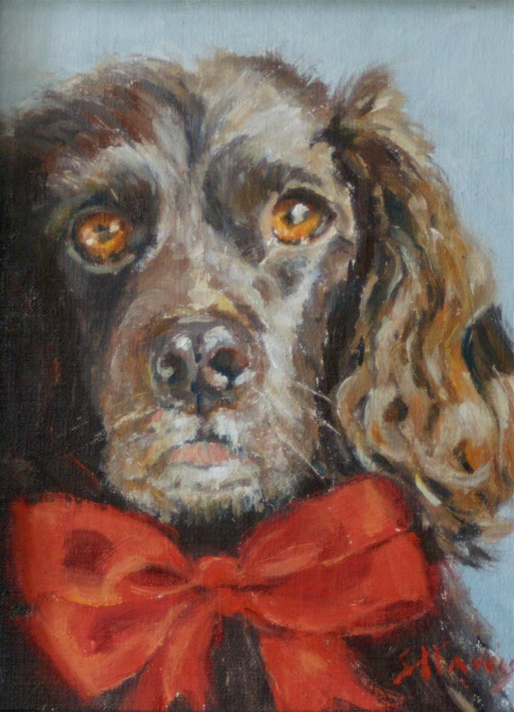 """Eyes of Love"" original fine art by Sandra L Harris"