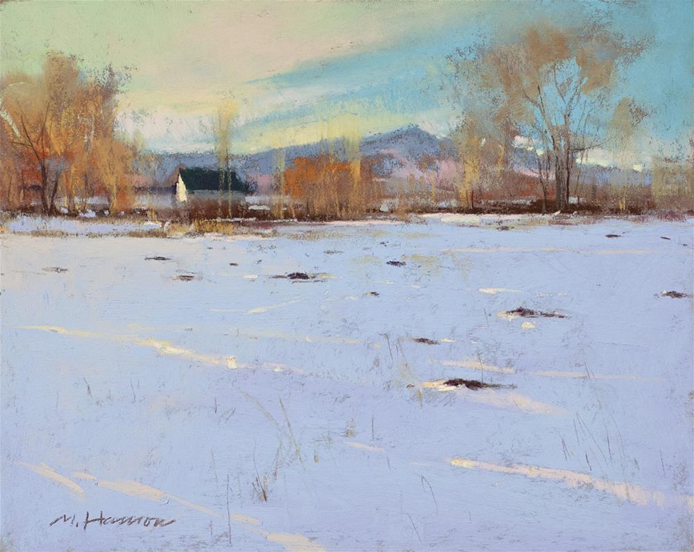 """""""2-12-4 Prairie Homes"""" original fine art by Marc Hanson"""