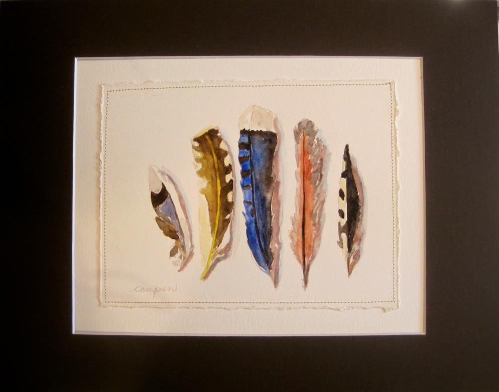 """396 Lineup"" original fine art by Diane Campion"