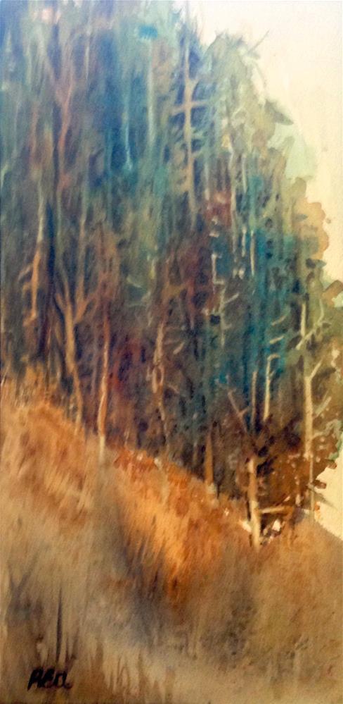 """ridge of trees"" original fine art by Betty Argiros"