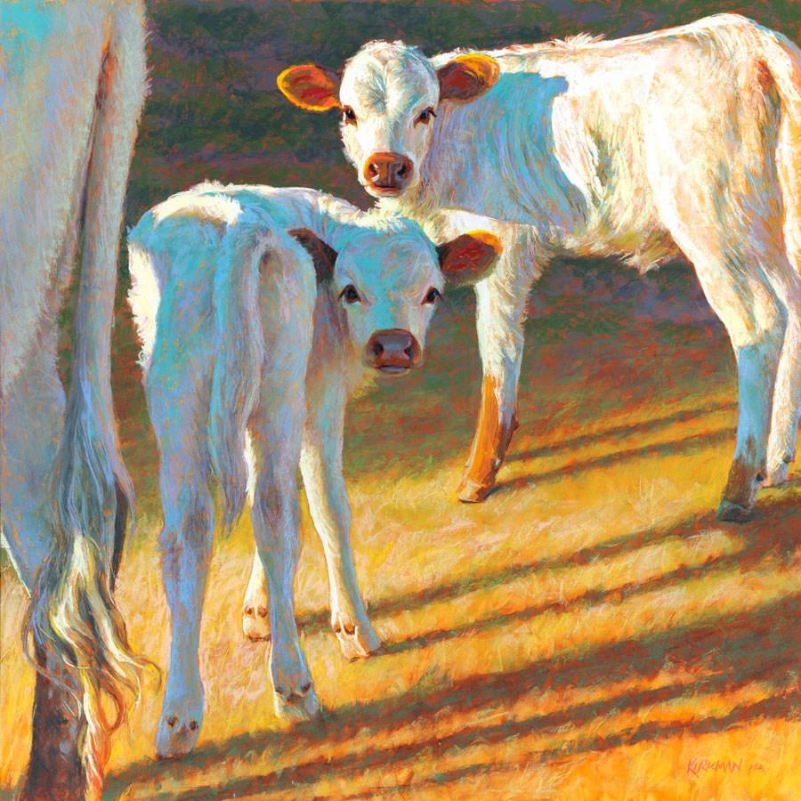 """Castor and Pollux to Cottonwood"" original fine art by Rita Kirkman"