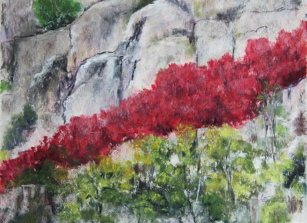 """Canyon Maples"" original fine art by Anna Lisa Leal"