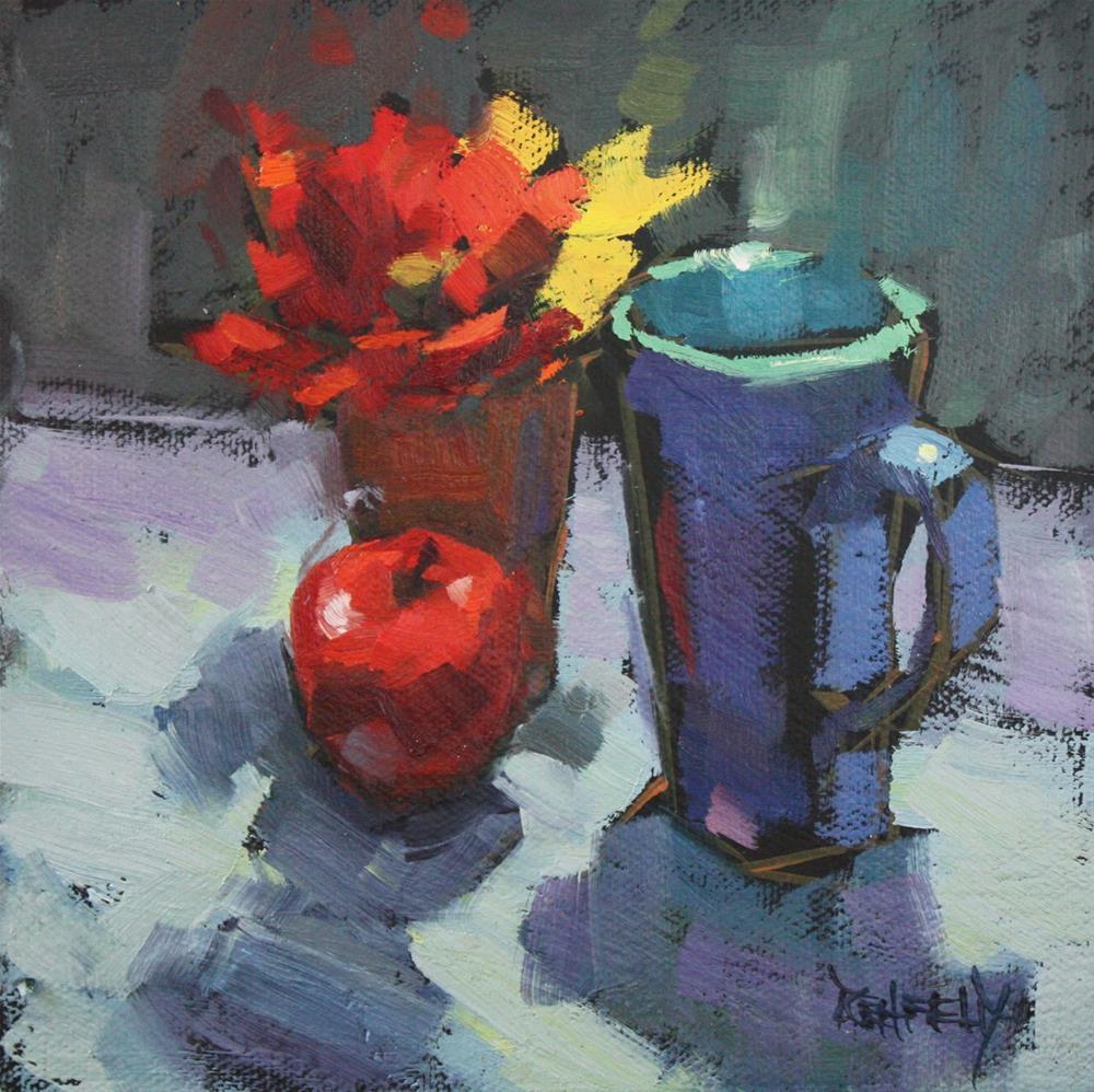 """Fall Still Life"" original fine art by Cathleen Rehfeld"
