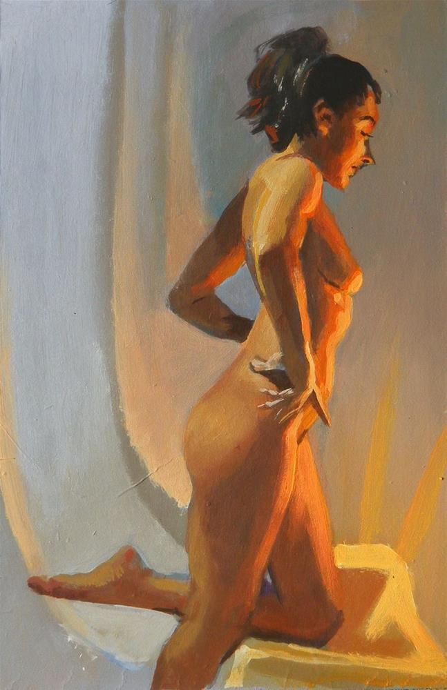 """Stand"" original fine art by Peter Orrock"