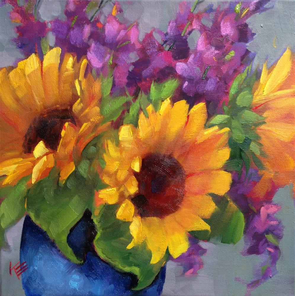 """Summertime Memories"" original fine art by Krista Eaton"