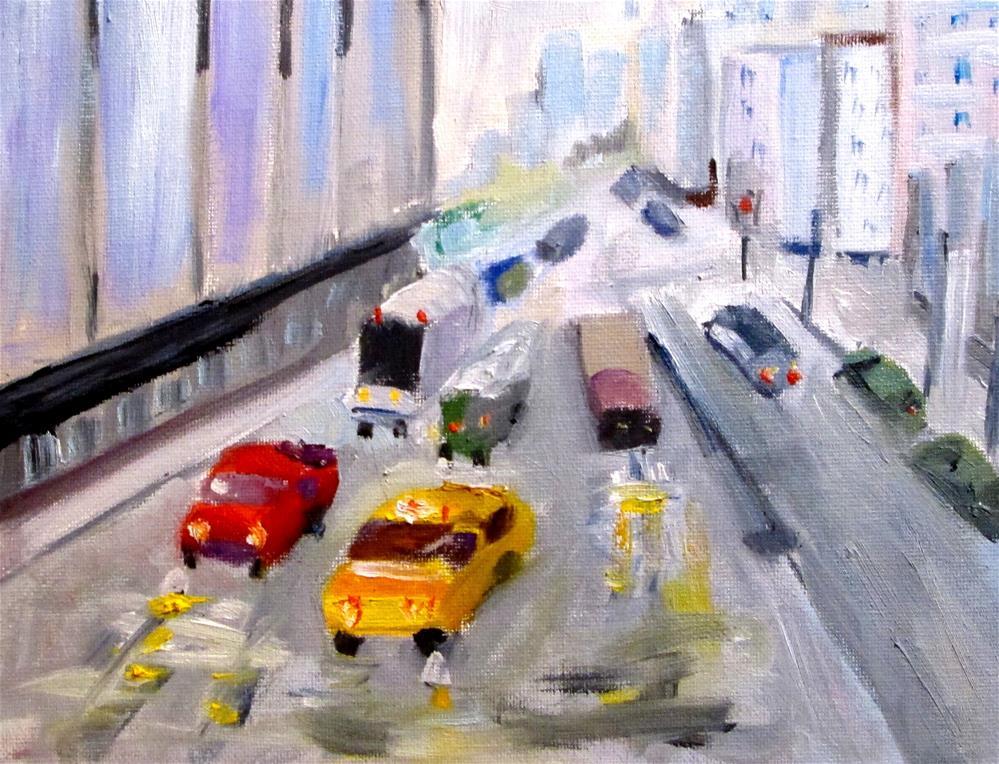 """Urban Landscape"" original fine art by Delilah Smith"