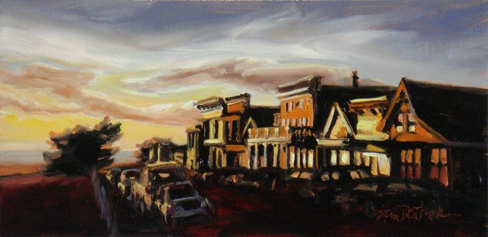 """Mendocino Dreamin'"" original fine art by Erin Dertner"