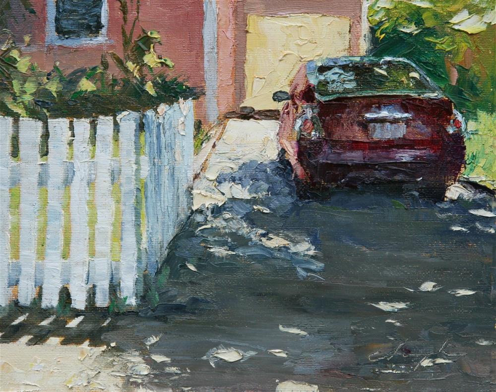 """""""The Picket Fence Challenge"""" original fine art by Chuang Liu"""