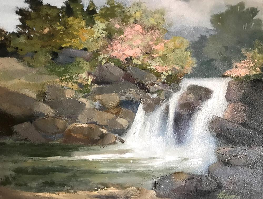 """Springtime Returns"" original fine art by Helen Harris"