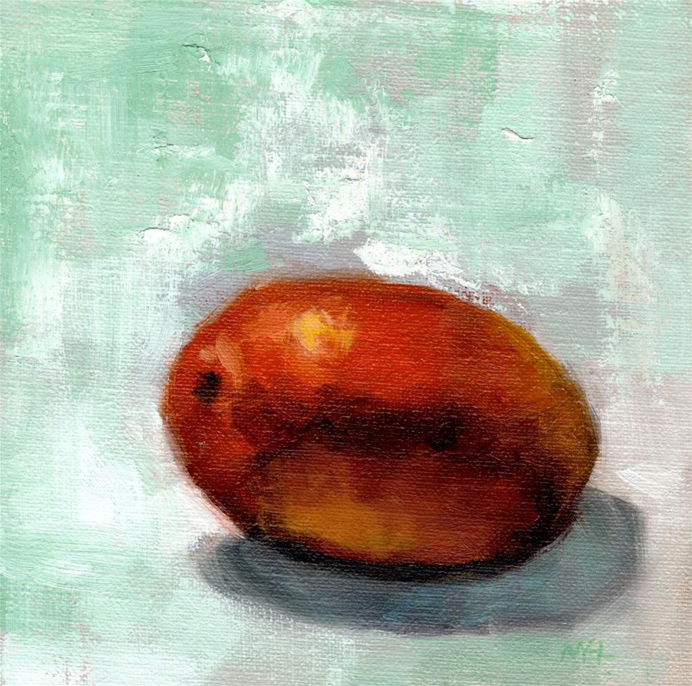 """Mango"" original fine art by Marlene Lee"