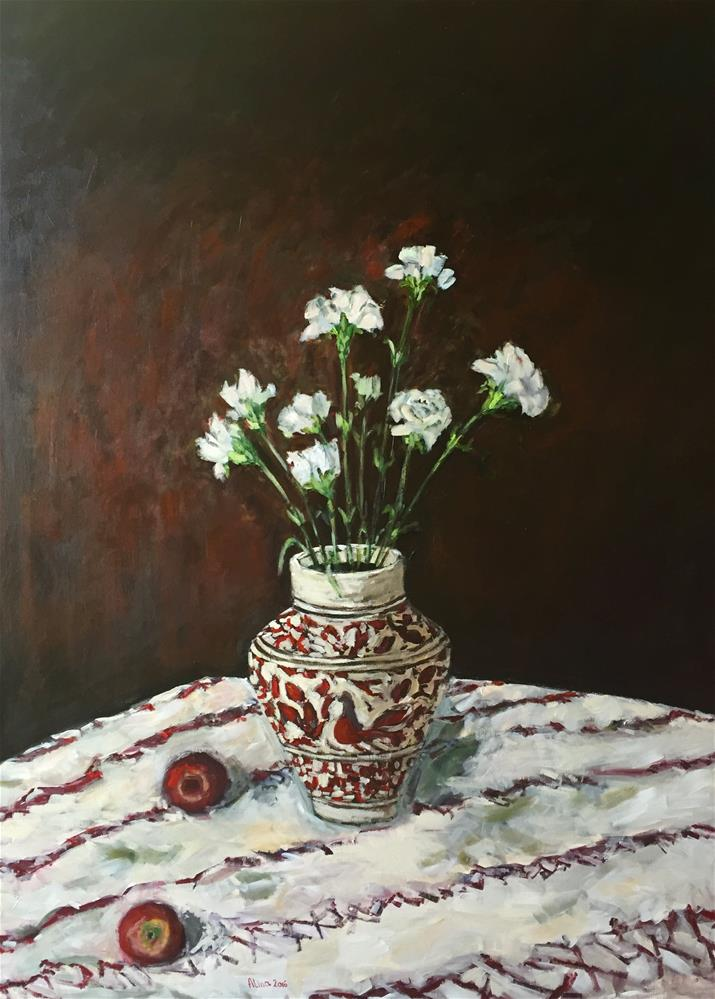 """New Vase"" original fine art by Alina Vidulescu"