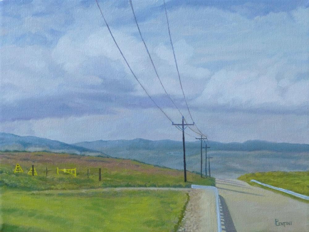"""""""Quiet Morning"""" original fine art by Peter Lentini"""