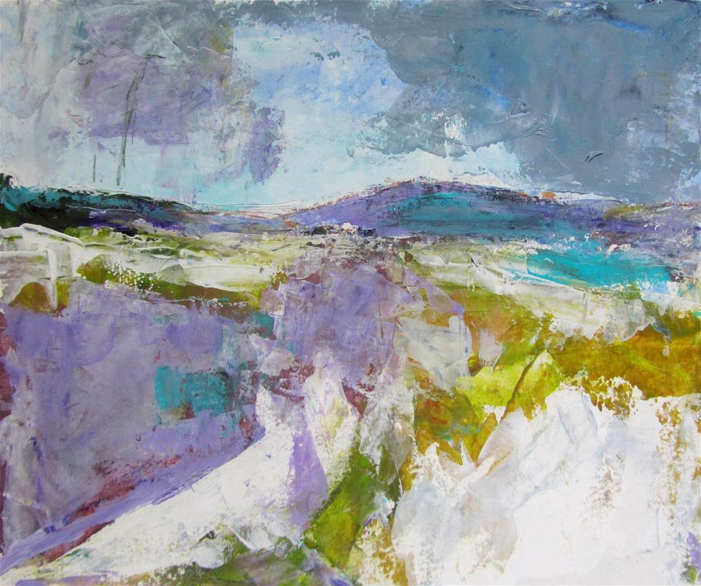 """Skye Drive  (Study #2)"" original fine art by Patricia MacDonald"