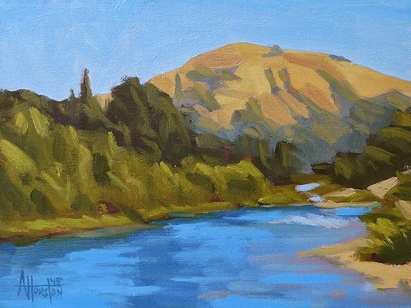 """Along the South Fork"" original fine art by Adam Houston"