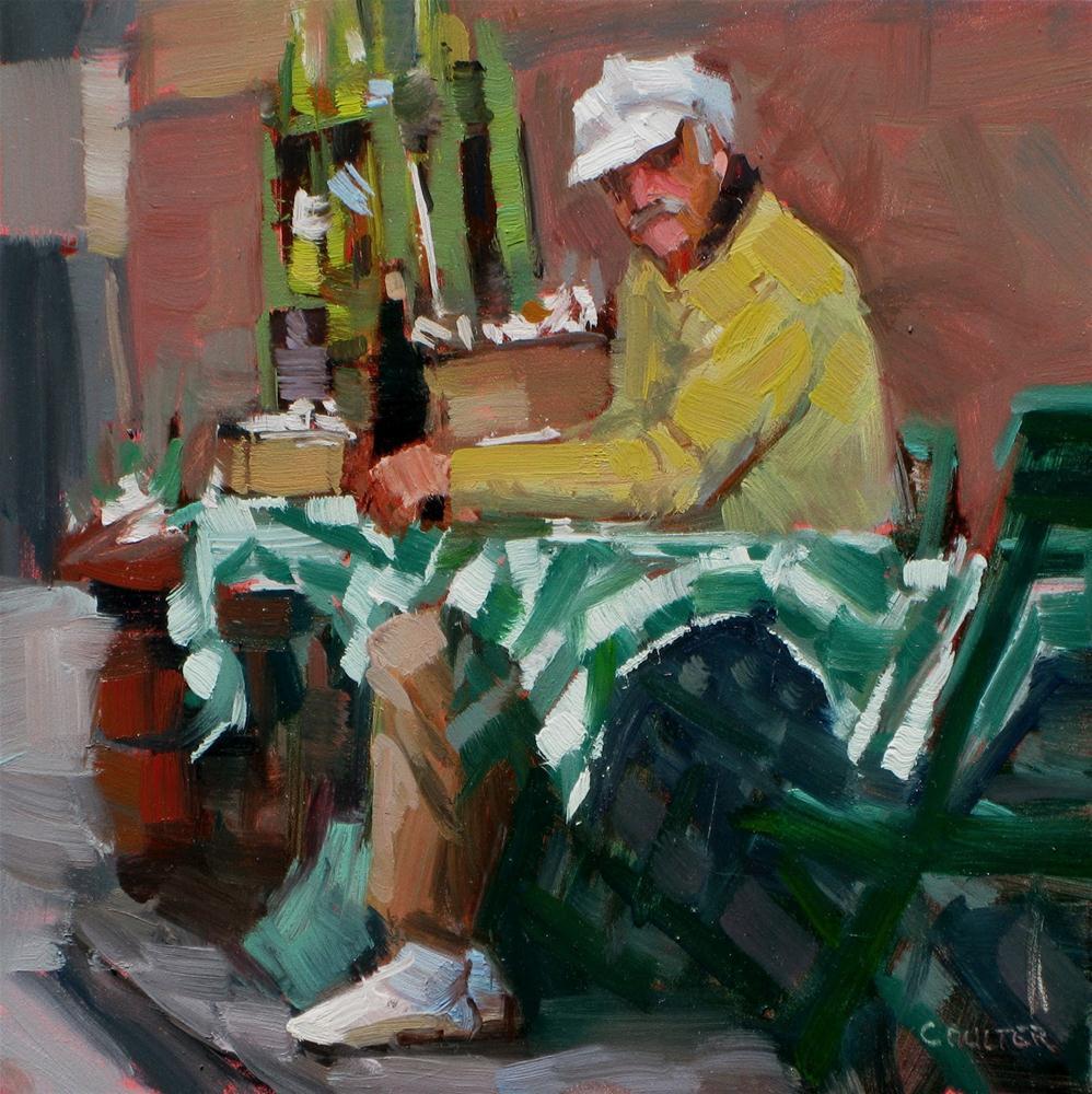 """""""LIMONCELLO"""" original fine art by James Coulter"""