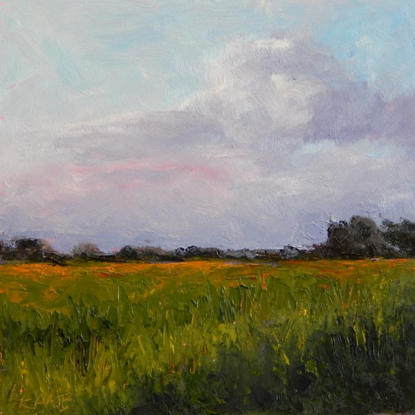"""Summer Afternoon"" original fine art by Lori L. Lamb"