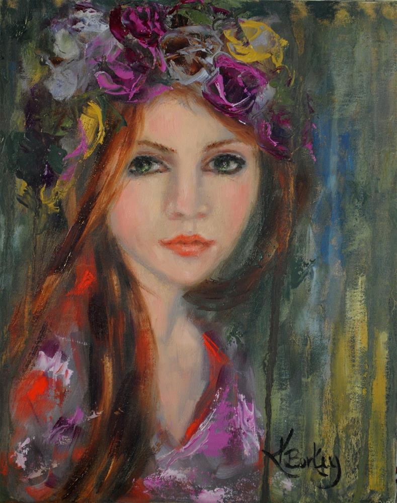 """Silver Spring"" original fine art by Kelly Berkey"