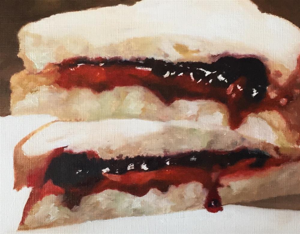 """Peanut Butter & Jam"" original fine art by John Cameron"