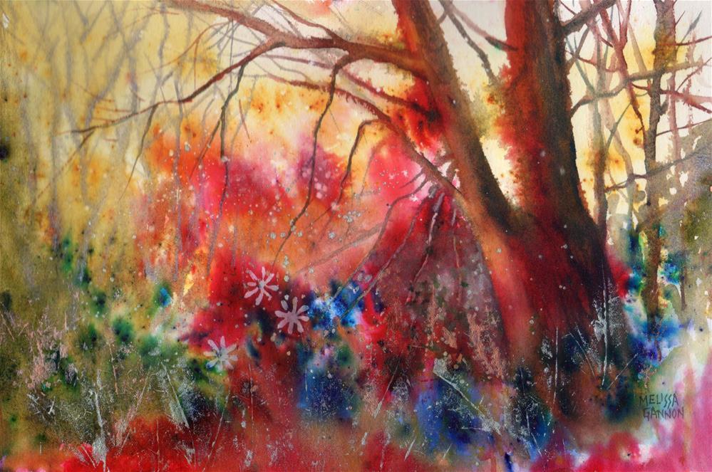"""""""Fairy Playground"""" original fine art by Melissa Gannon"""
