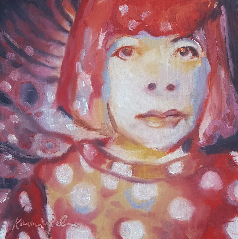 """Yayoi"" original fine art by Karen Weber"