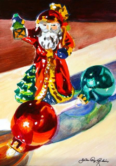 """""""Glass Ornaments"""" original fine art by JoAnne Perez Robinson"""