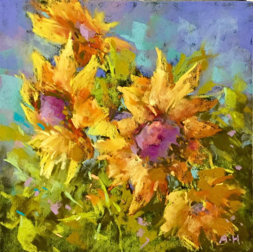 """Sunny Delight"" original fine art by Alice Harpel"