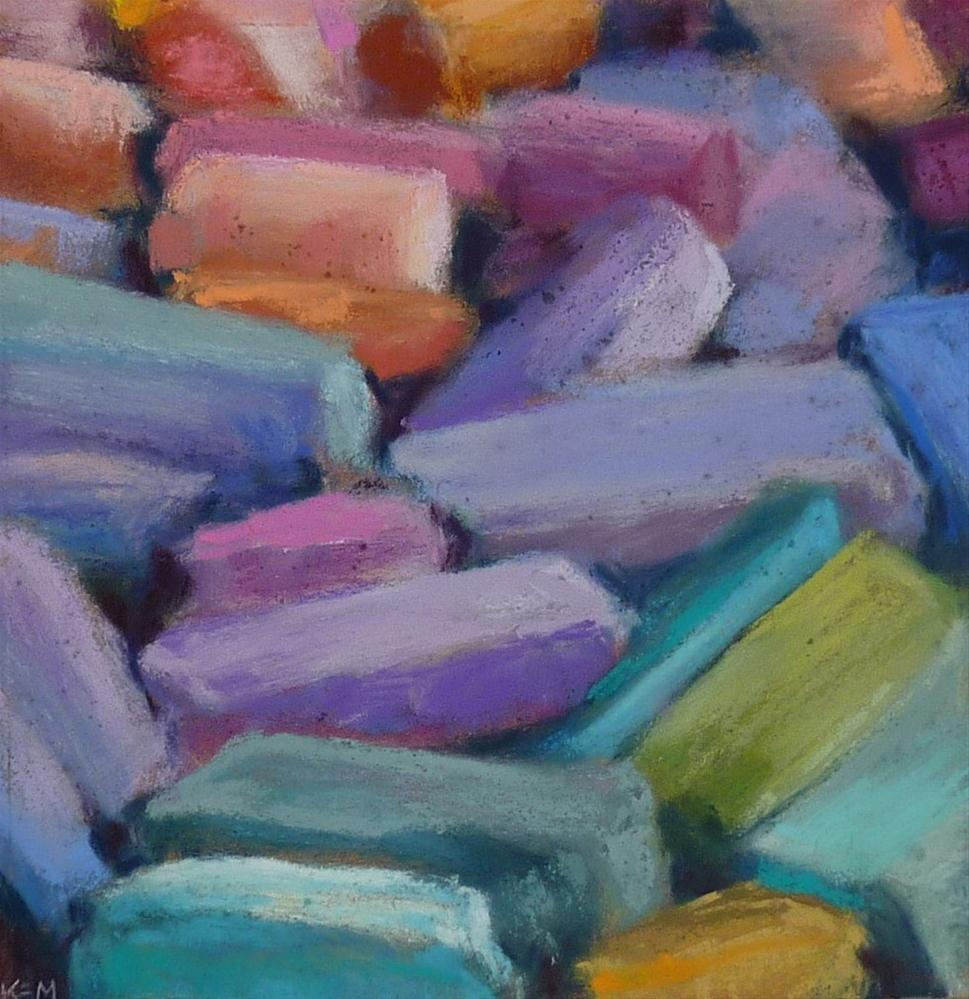 """Love Pastels? Here's a Great Way to Show it"" original fine art by Karen Margulis"