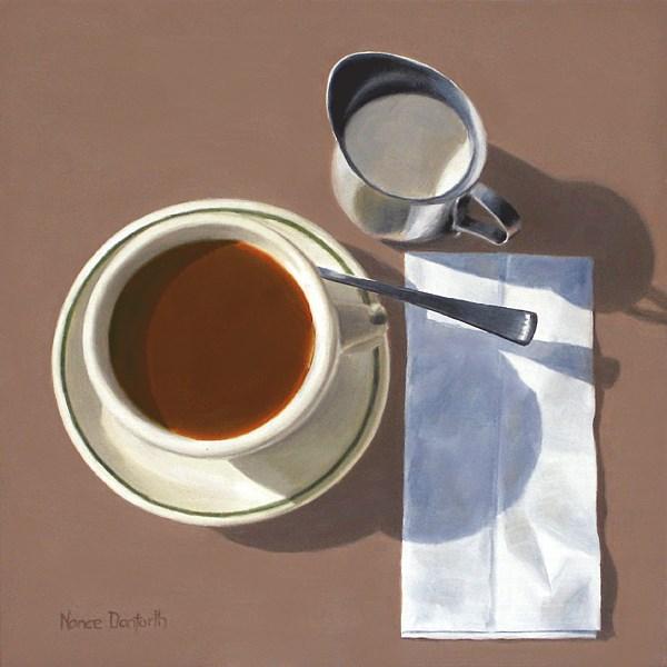 """Just Cream?"" original fine art by Nance Danforth"