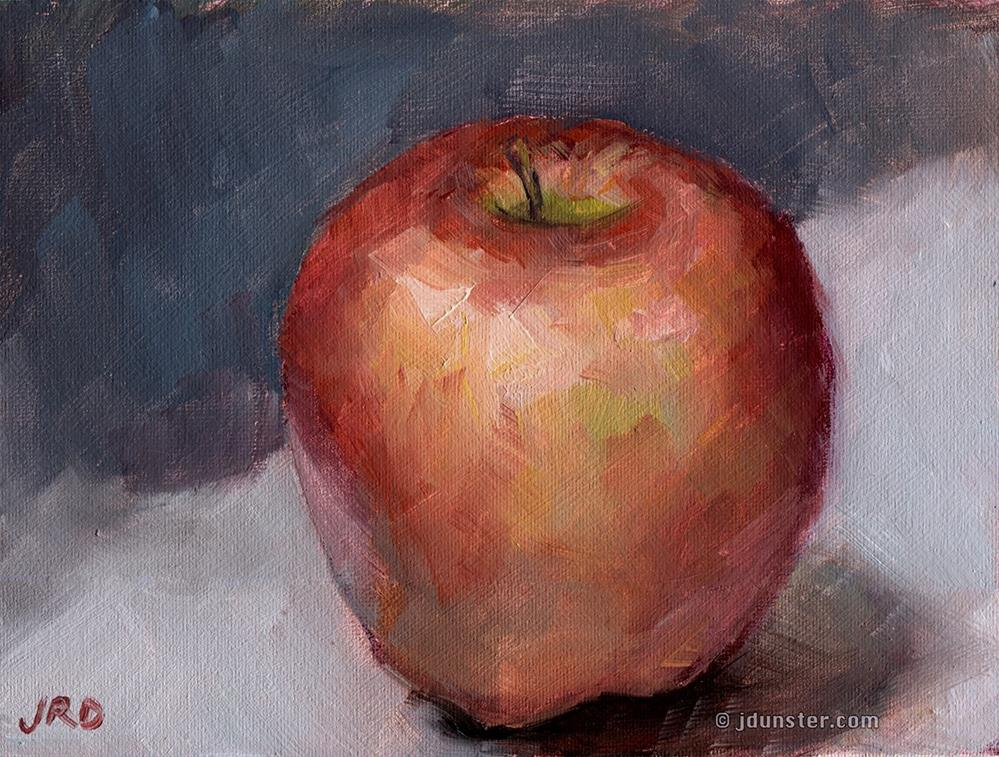 """Apple Study"" original fine art by J. Dunster"
