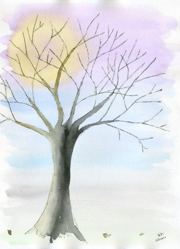 """""""Feels Like Winter"""" original fine art by Kali Parsons"""