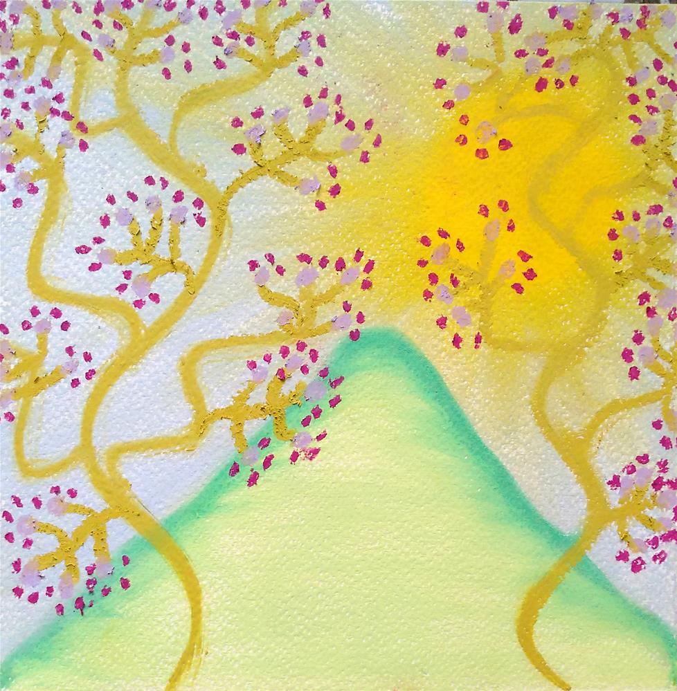 """Melody in the Harmony"" original fine art by Adéla Svobodová"
