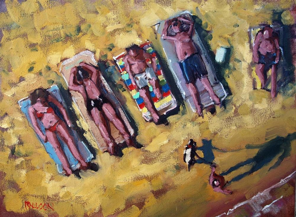 """Human Scale Drone Art"" original fine art by Rick Nilson"
