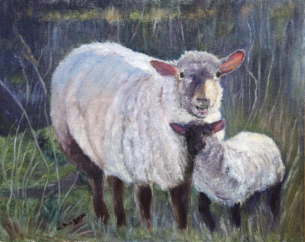 """Mommas' Girl"" original fine art by Candi Hogan"