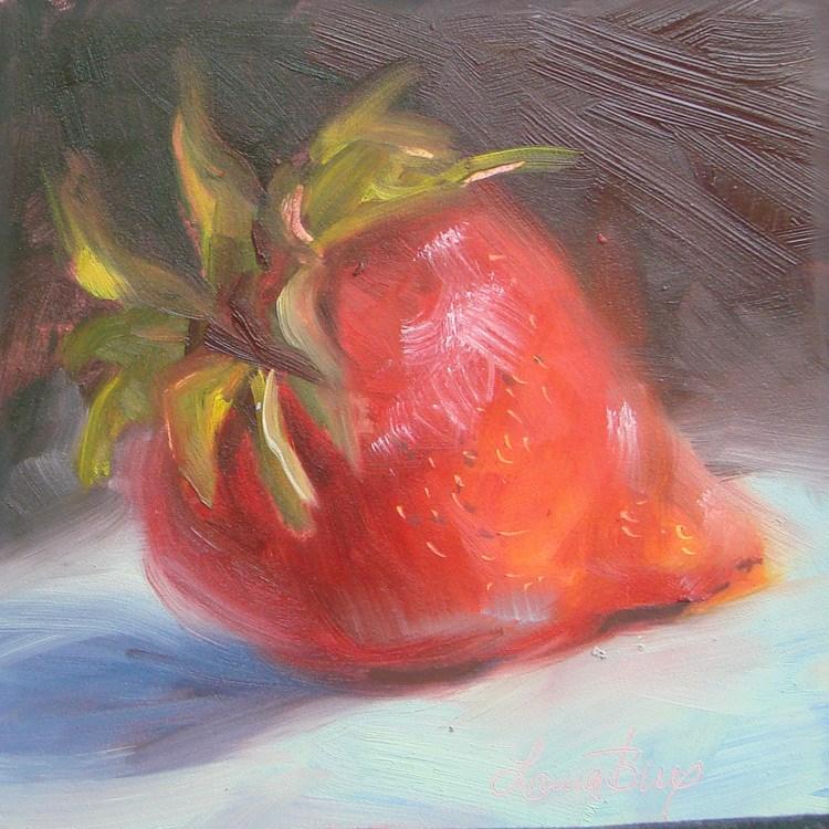 """Just One - 422"" original fine art by Laura  Buxo"