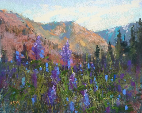 """""""Which is Better...Water or Alcohol Wash? New Video!"""" original fine art by Karen Margulis"""