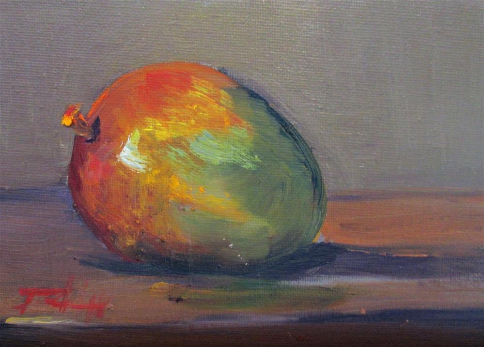 """Mango"" original fine art by Delilah Smith"
