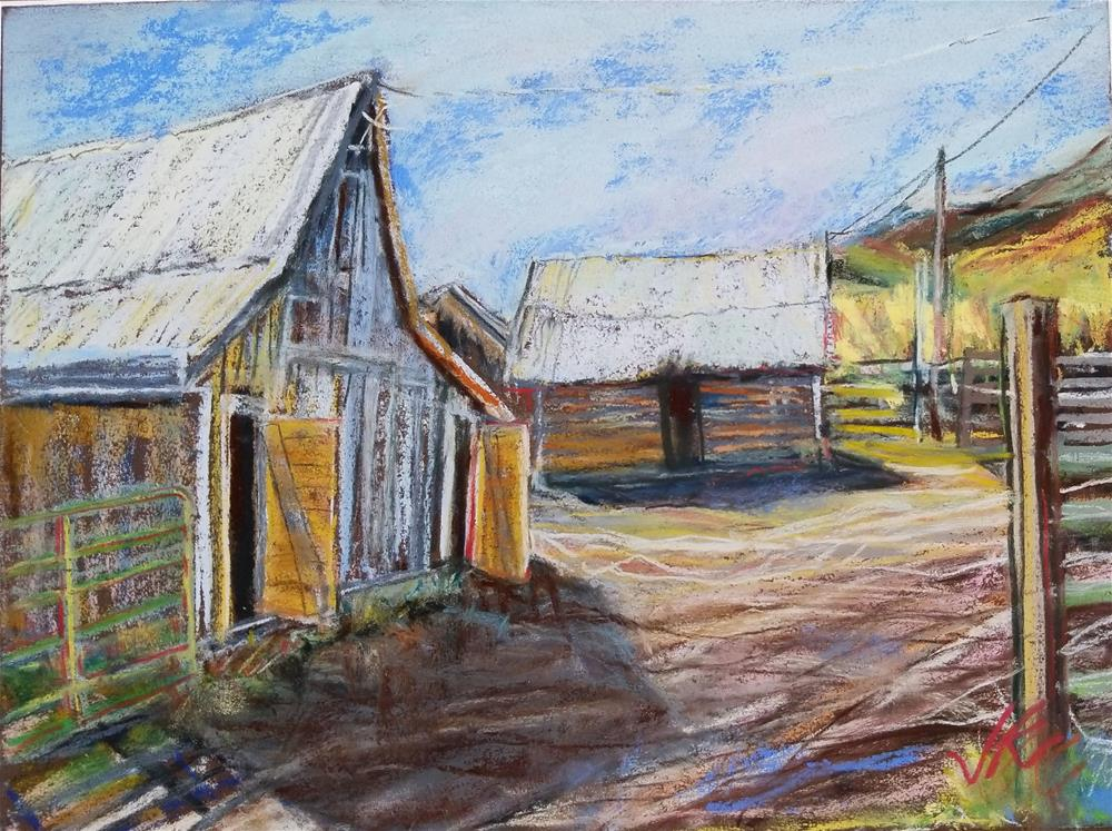 """Music Meadows Ranch,"" original fine art by Jean Krueger"