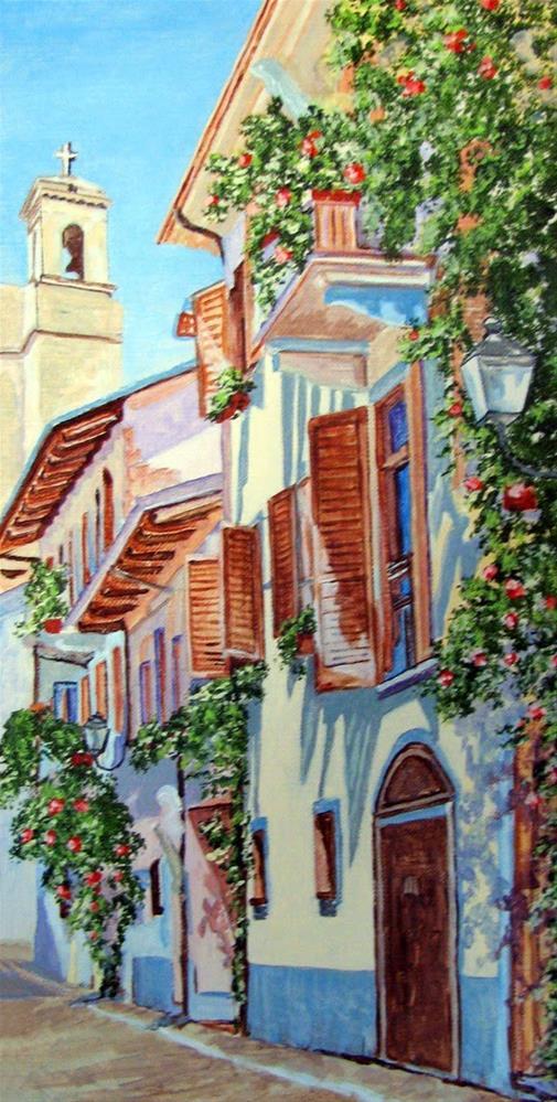 """Terlizzi"" original fine art by Nan Johnson"