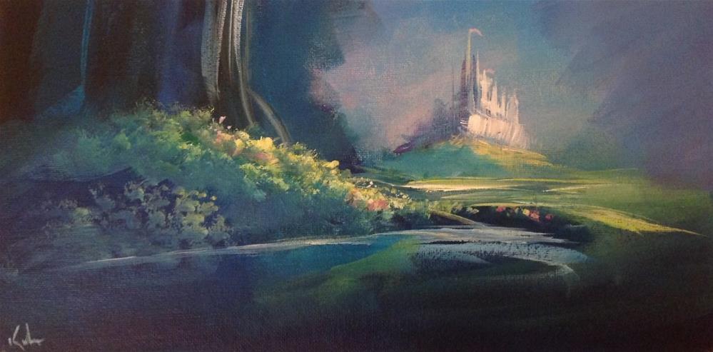 """Soon We Were Near"" original fine art by David Kuhn"