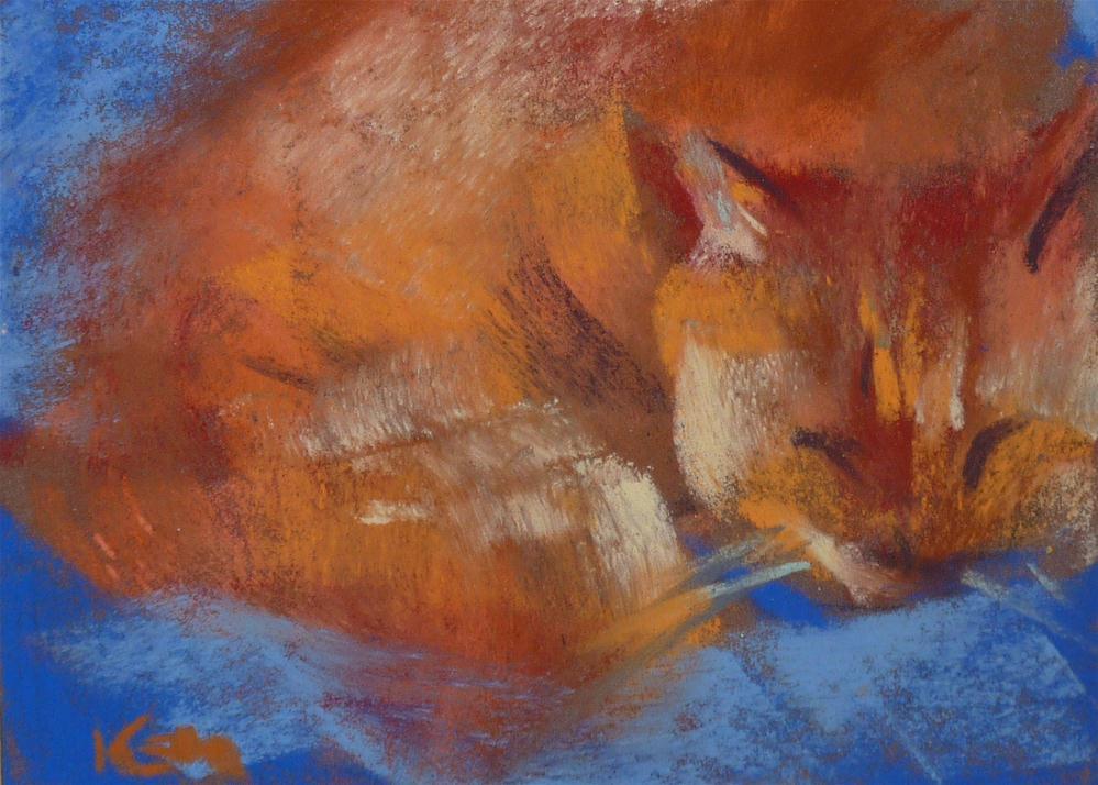 """""""ZZZZZZ"""" original fine art by Karen Margulis"""