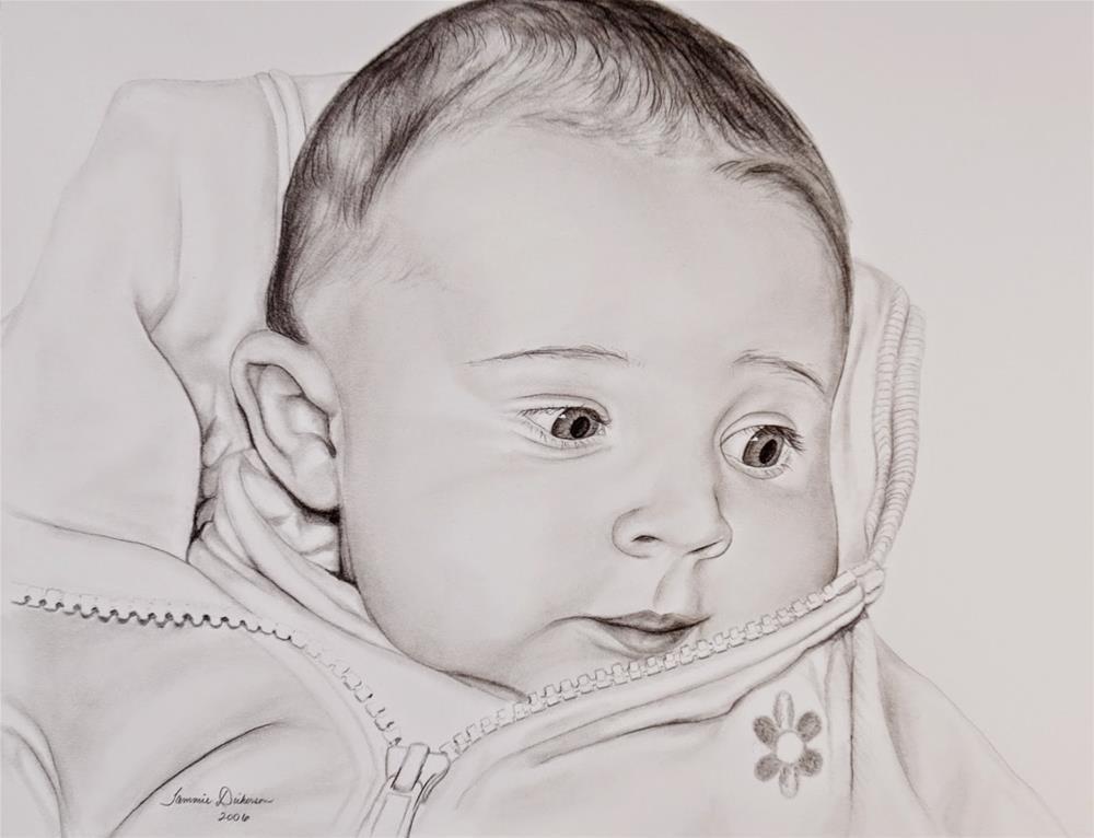 """Sweet Baby"" original fine art by Tammie Dickerson"