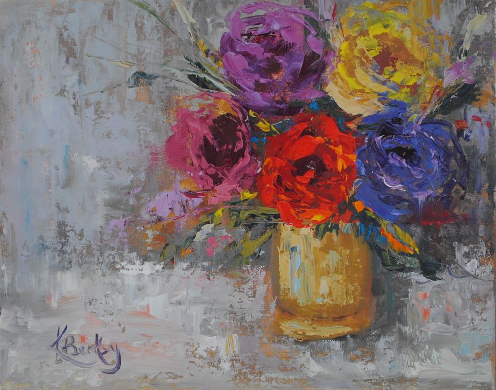 """Summer Bloom"" original fine art by Kelly Berkey"