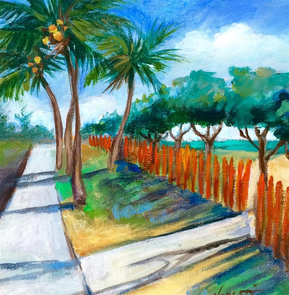 """Delray Beach"" original fine art by Valerie Vescovi"