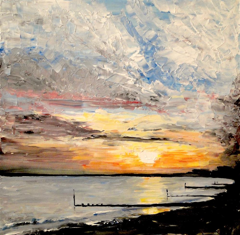 """Foreshore"" original fine art by Karen Robinson"
