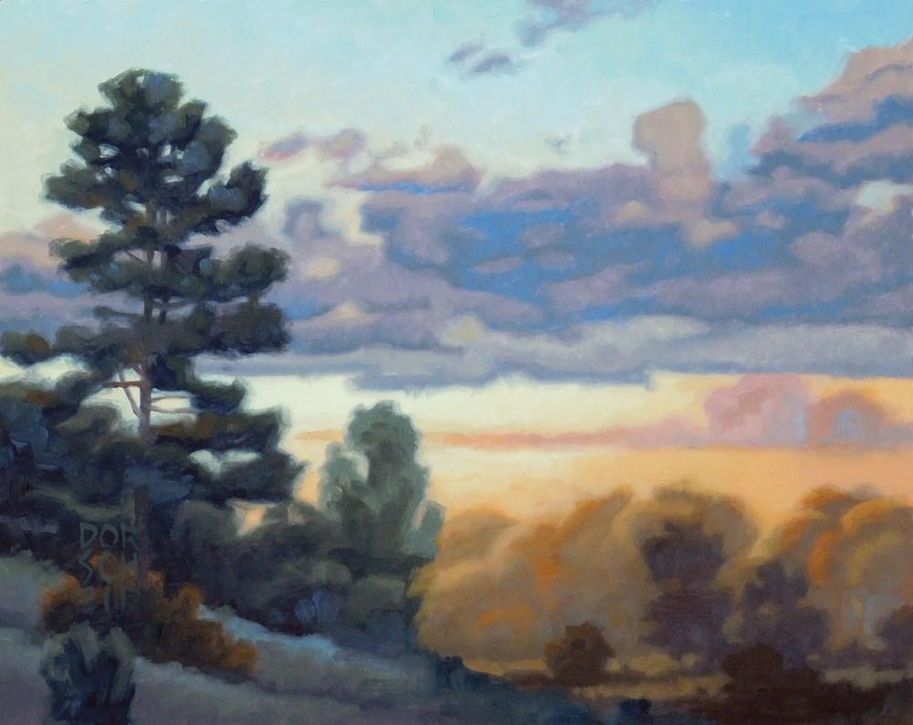 """""""Evening Sky"""" original fine art by Les Dorscheid"""