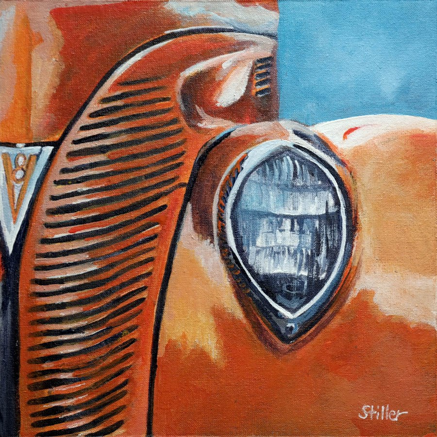 """2282 Hot Rod"" original fine art by Dietmar Stiller"