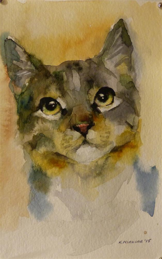 """adopt81"" original fine art by Katya Minkina"