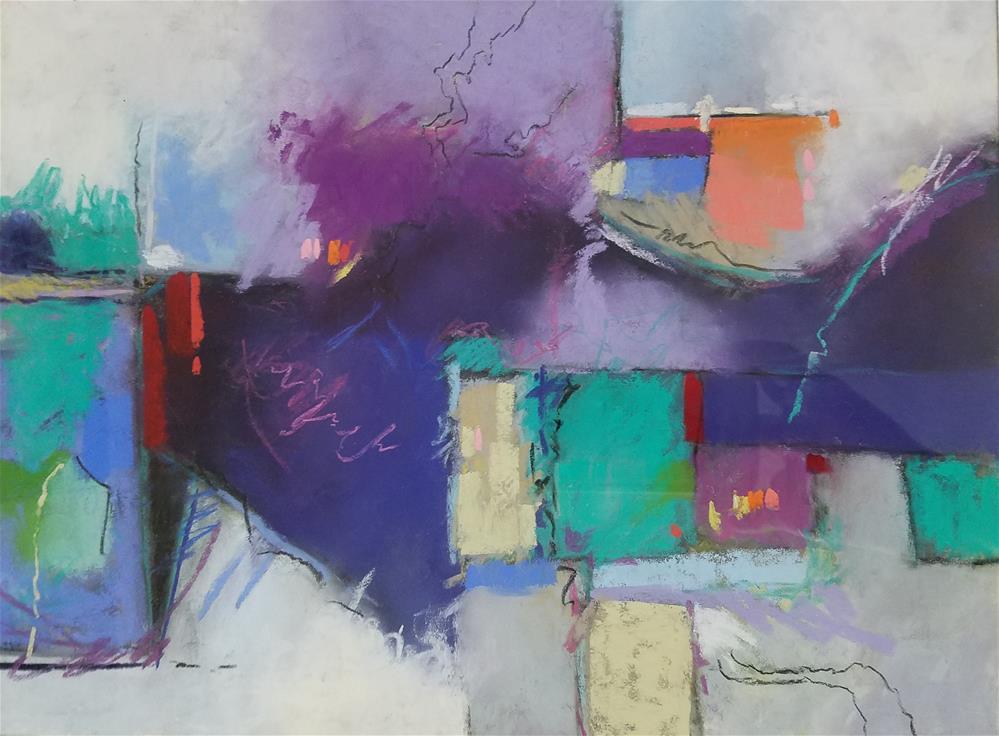 """Brewing Storm"" original fine art by Cindy Haase"